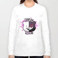 dangan ronpa Long Sleeve T-shirts featuring Dangan Ronpa by zamiiz