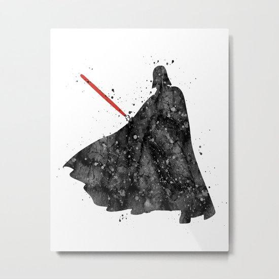 Darth Vader Star . Wars Metal Print