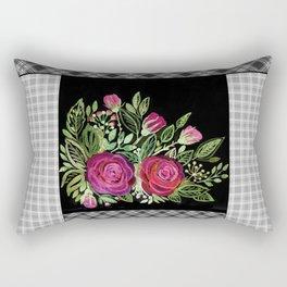 Rustic patchwork 2 Rectangular Pillow