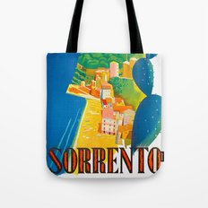 Sorrento Italy ~ Vintage Travel Poster Tote Bag