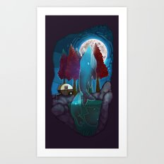 In a Dream Once... Art Print