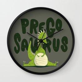 Pregosaurus Wall Clock