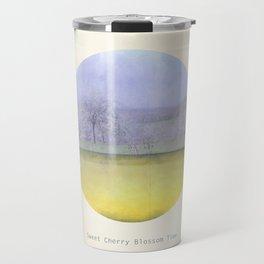 Sweet Cherry Blossom Time Travel Mug
