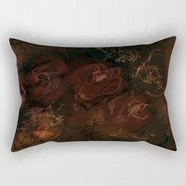 Rambling Rose Rectangular Pillow
