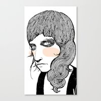 plain Canvas Prints featuring Plain Patti by Le Butthead