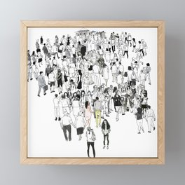 All We Have Is Now Framed Mini Art Print