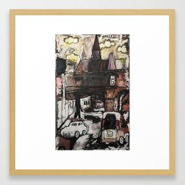 Bretch Framed Art Print