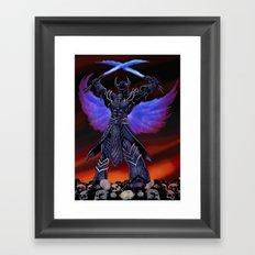 Deathwings Framed Art Print