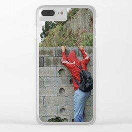 S'IL TE PLAÎT Clear iPhone Case