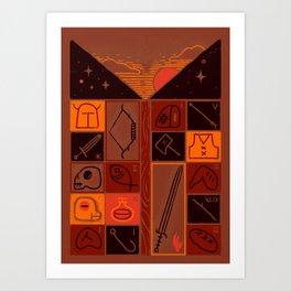 INVENTORY Art Print