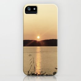 Hudson Sunset iPhone Case