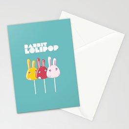 Rabbit Lolipop Stationery Cards