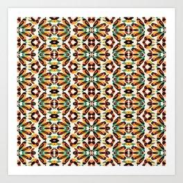 Birdie Pattern Art Print