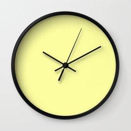 Lemon Splash Wall Clock