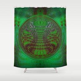 Greener Pattern 5 Shower Curtain
