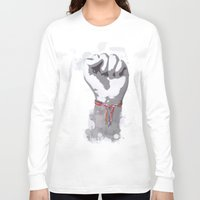 power Long Sleeve T-shirts featuring Power by Isaak_Rodriguez