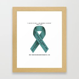 The Wounds We Cannot See Documentary Framed Art Print