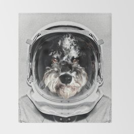 Buster Astro Dog Throw Blanket