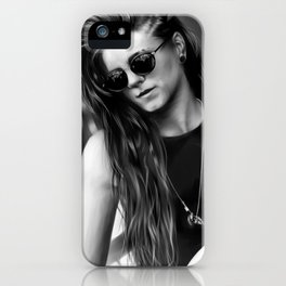 Lynn Gunn iPhone Case