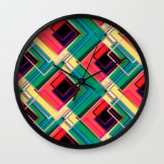 Life in color Wall Clock