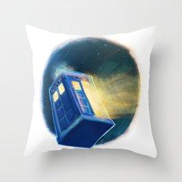 The TARDIS Throw Pillow