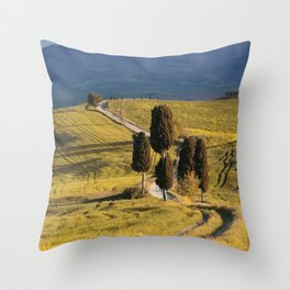 Postcard from Italy Throw Pillow
