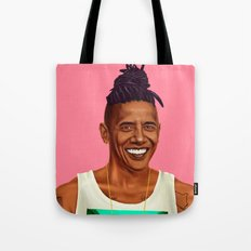 Hipstory - Barack Obama Tote Bag