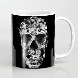 Vintage Skull BW Coffee Mug