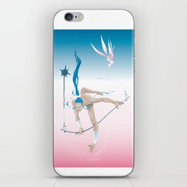 LIBRA, 7th zodiacal sign. iPhone Skin