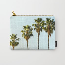 Four Palm Trees Carry-All Pouch