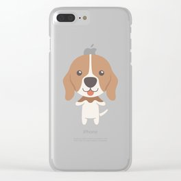 Serbian Hound Gift Idea Clear iPhone Case