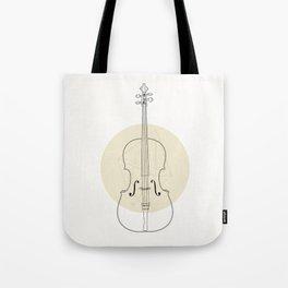 Cello II Tote Bag