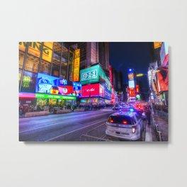 Times Square New York Metal Print
