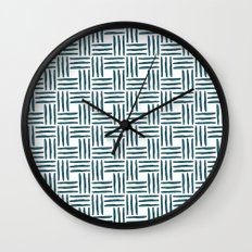 Wasserweave Wall Clock