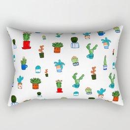 A Garden of Cacti Rectangular Pillow