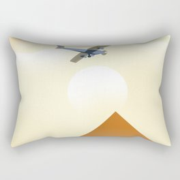 Egypt Travel poster Rectangular Pillow