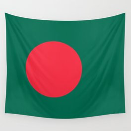 The Flag of Bangladesh - Authentic 3:5 version Wall Tapestry