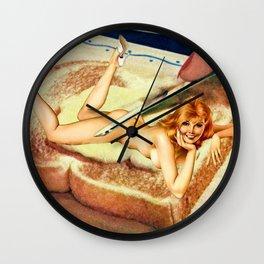 Leg Spread Wall Clock