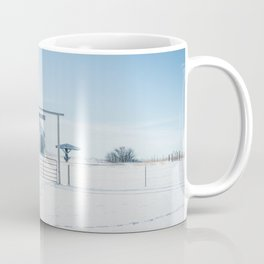 Winter, Galpin Church, Montana Coffee Mug