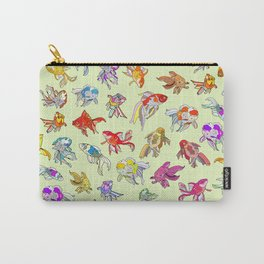 Fish Swimming in Sea Carry-All Pouch