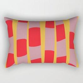 Abstract Snake Rectangular Pillow