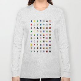Minimalism beloved Videogame Characters Long Sleeve T-shirt
