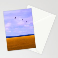 Golden Field Stationery Cards