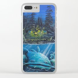 Catfish Fever Clear iPhone Case