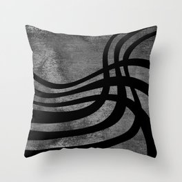Tangled Cords Throw Pillow
