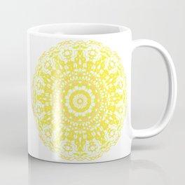 Mandala 12 / 2 eden spirit yellow Coffee Mug