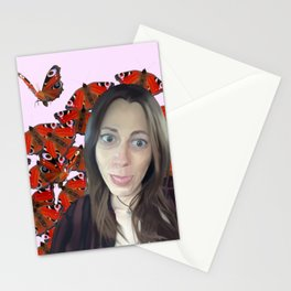 Butterfly Woman Stationery Cards