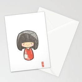 Kokeshi [Special Lucky Toy Box] Stationery Cards