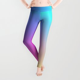 Rainbow Pastel Neon Haze Leggings