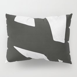 Black Expressionism IV Pillow Sham
